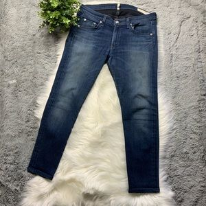 Rag & Bone Jeans Skinny Denim Saxby 30 x 25